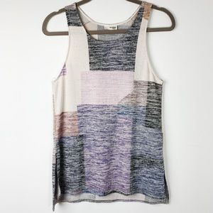 Wilfred Free Ornella Tank Color Block Patchwork XS